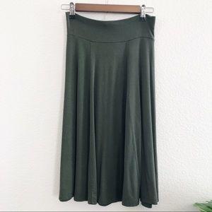 Salaam Olive Green Skirt